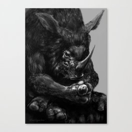 Oz the Terrible Canvas Print