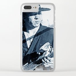 Ray Vaughan Clear iPhone Case