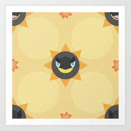 Heliolisk Pattern Art Print