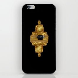 The Golden Monk iPhone Skin