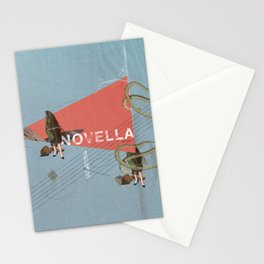 Novella- Mixed media Stationery Cards