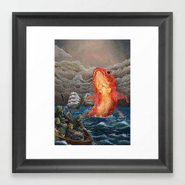 Breach Framed Art Print