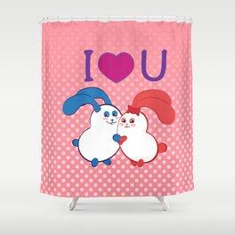 Ernest | Loves Coraline Shower Curtain