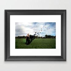 Fly's Away... Framed Art Print