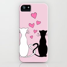 Cats with Love Slim Case iPhone SE
