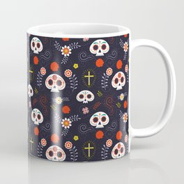 Mexican Day of the Dead Coffee Mug