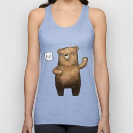 The Little Bear Unisex Tank Top