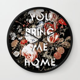 Harry Styles Sweet Creature Artwork Wall Clock