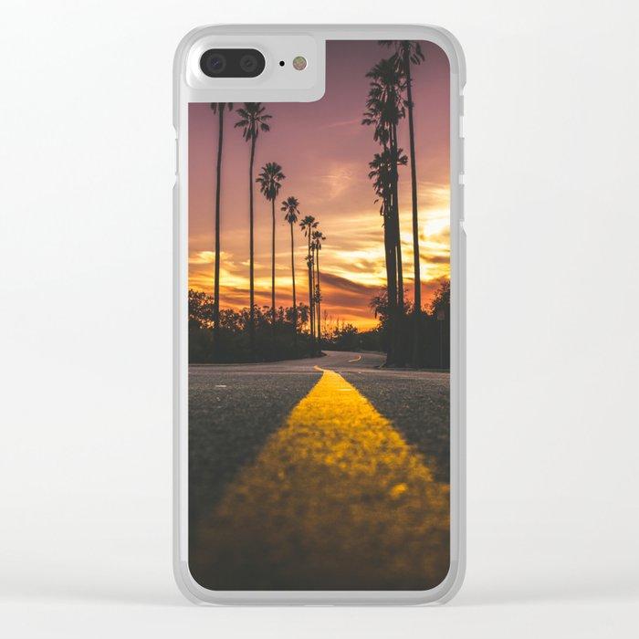 California Dreamin' Clear iPhone Case