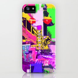 San Francisco China Town flags and lanterns iPhone Case