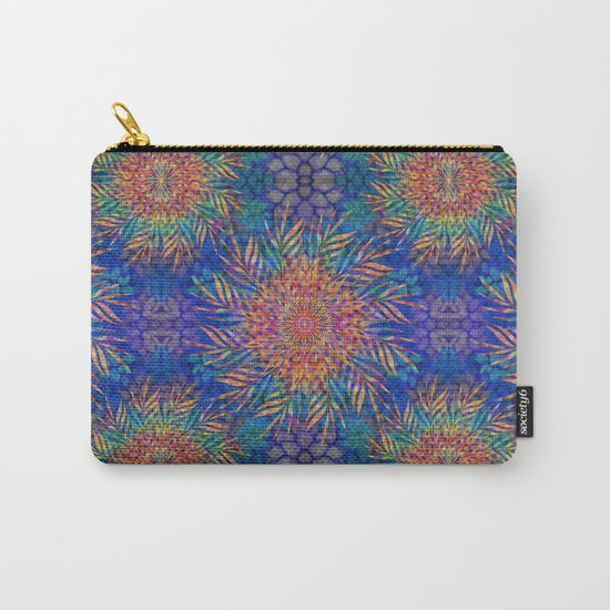 Palm Leaves Mandala Carry-All Pouch