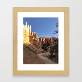 Bryce Framed Art Print