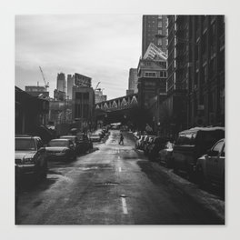 Brooklyn Loner Canvas Print