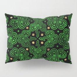 Shamrock Clover Ornament Pillow Sham