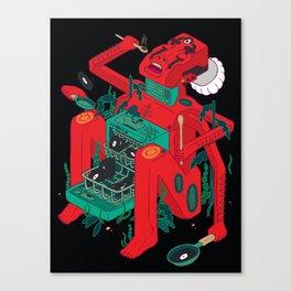 Super Kitchen Canvas Print