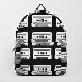 Black and White Tapes Backpack