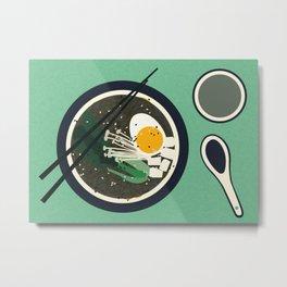 Breakfast At Mr Chan Metal Print