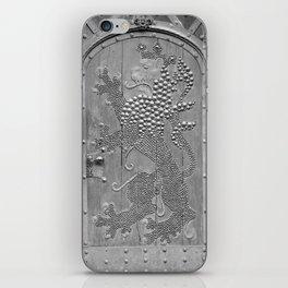 An Old Door iPhone Skin