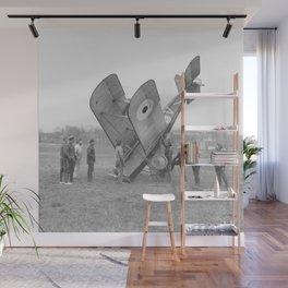 Plane crash. Wall Mural