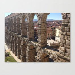 Segovia Aqueduct Canvas Print