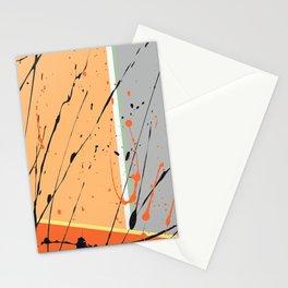Orange Ecstacy Stationery Cards