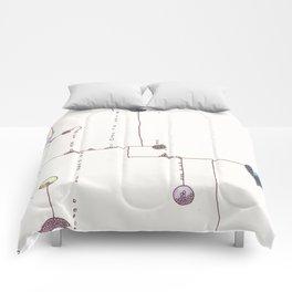 Lollipop Land 4 Comforters