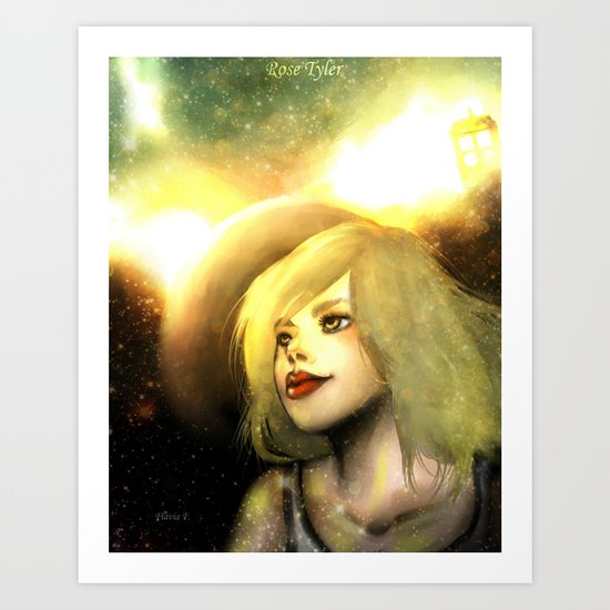 Rose Tyler - Earth Defence Art Print