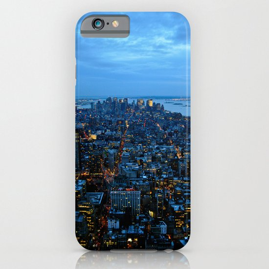 The City That Never Sleeps - NYC iPhone & iPod Case