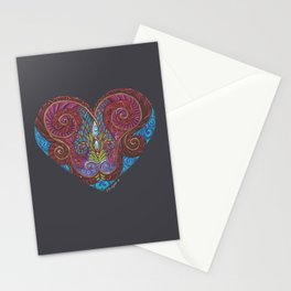Heart Totem Stationery Cards