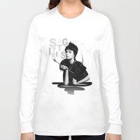 sagittarius Long Sleeve T-shirts featuring Sagittarius by BeckiBoos