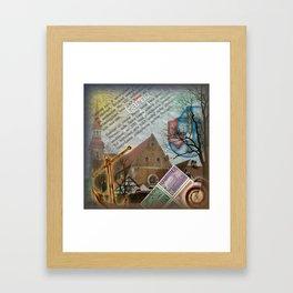 Old church Framed Art Print