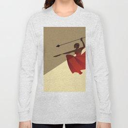 MU: battle cry Long Sleeve T-shirt