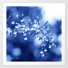 Feeling Blue Art Print