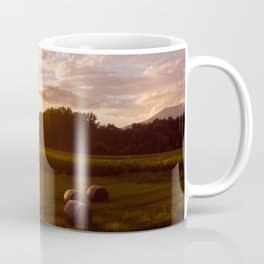 Rural Sunset Coffee Mug