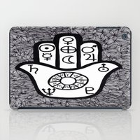 hamsa iPad Cases featuring hamsa by smurfmonster
