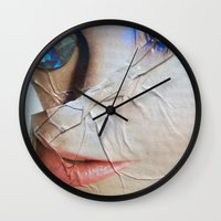 gem Wall Clocks featuring GEM by ALEX WAS HERE
