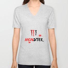 Ltd Edition:monster art Unisex V-Neck