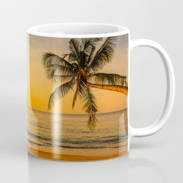 Beautiful Sunset over the Beach Coffee Mug