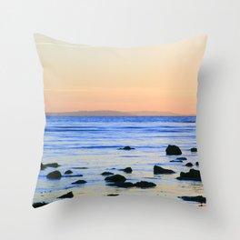Pastel Sunset Throw Pillow