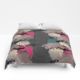The Floral Continuation Comforters