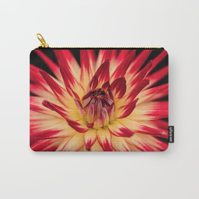 Flower red Carry-All Pouch
