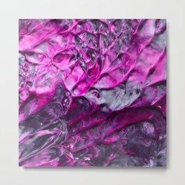 Purple Abstraction Metal Print