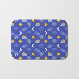 Weather Forecast Bath Mat