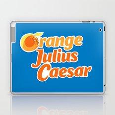 Orange Julius Caesar Laptop & iPad Skin