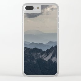 Mount Saint Helens Clear iPhone Case
