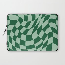 Play Checkers Sage Laptop Sleeve