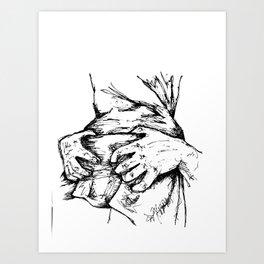 Grab it Art Print