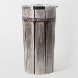shed dilapidated cubby door Travel Mug