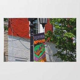 Sylvania Banner- vertical Rug