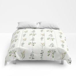 Eucalyptus Branches Comforters